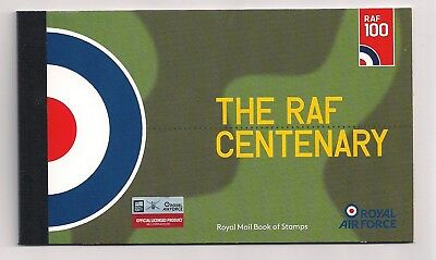 2018 Gb Royal Mail The Raf Centenary Commemorative Prestige Stamp Book Dy25 Mnh