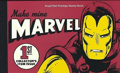 2019 Gb Royal Mail Make Mine Marvel Heroes Uk Prestige Stamp Book Dy29 Mnh