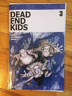 Dead End Kids #3 NM First Print Source Point Sold Out!