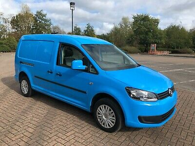 2011 Volkswagen Caddy Maxi C20 1.6 TDI BLUE FULLY LOADED 63000 MILES