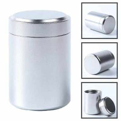Airtight Smell Proof Container Herb Stash Jar Metal Sealed Can Tea Ja#ans