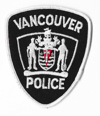 Police Patch Canada Vancouver Servmus Maple Leaf Shoulder Sleeve Constable Pd