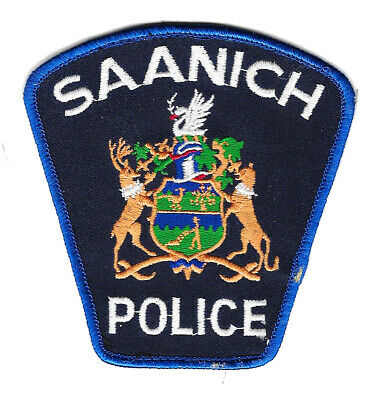 Police Patch Canada Saanich Bc British Columbia Land Of Plenty Constable Sheriff