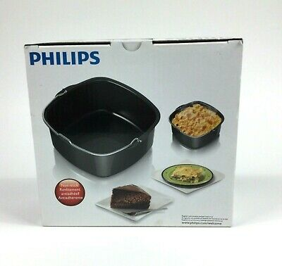 Philips Viva Collection Airfryer Air Fryer Non-stick Baking Dish Tray HD9925//00