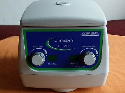 CLINISPIN CT20 Centrifuge Tested Fully Operational in a Good Cosmetic Condition