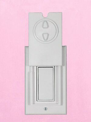 HomeStar Safety Light Switch Guard and Cover (for a Single Rocker Switch)