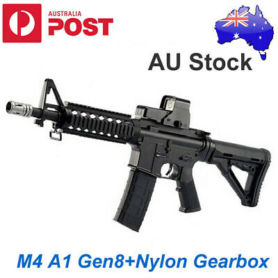 JINMING UPGRADED Full NYLON GEN 8 M4A1 Gel Ball Blaster Toy GUN MAG OZ Stock