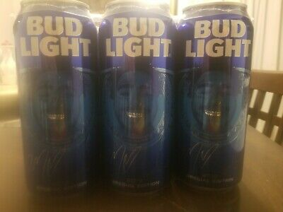 Post Malone 6 pack special edition bud lights