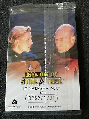 Legends Of Star Trek - LaForge, Yar, W. Crusher Sealed Set 252/1701