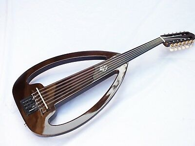 String Instrument Silent  Oud With Gigbag