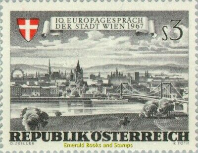 "EBS Austria Österreich 1967 Vienna seen from the ""Marshallhof"" ANK 1271 MNH**"