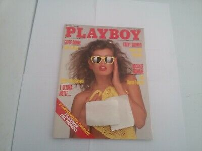 Playboy Italia Giugno 1988  Playmate Kathy Shower
