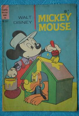 Collectable Walt Disney Comics MICKEY MOUSE-GOOFY Bear Gulch c1974 #M 207