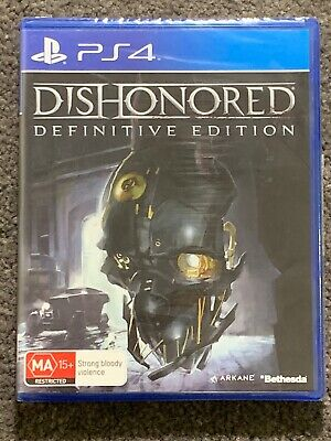 Playstation 4 PS4 Dishonoured Definitive Edition Brand New