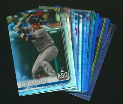 2019 Topps Update Rainbow Foil Parallels Pick from List Quantity Discount