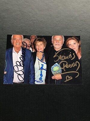 Jean-Paul Belmondo Veronique Jannot Francis Perrin Photo  dedicace autograph