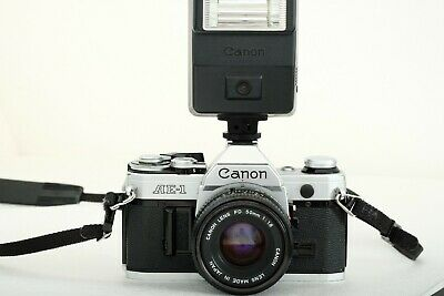 CANON AE1 - analog camera set made in Japan