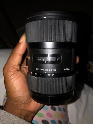 Sigma 18-35mm f/1.8 Art DC HSM Zoom Lens for Canon