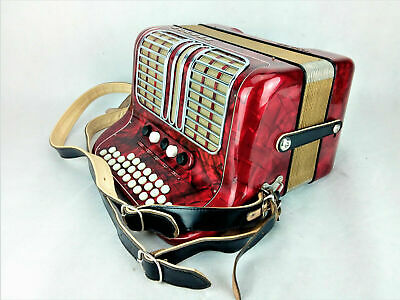 Hohner CLUB III M German Diatonic Accordion