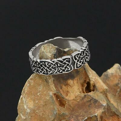 amulet celtic knot rings for men and women