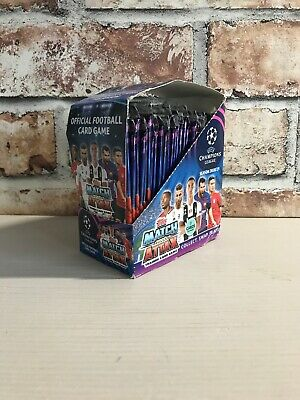 UEFA Topps 2018-19 Match Attax Champions League Cards 30 pack Full Box