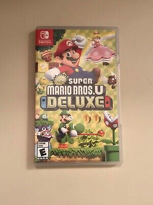 Super Mario Bros. U Deluxe (Nintendo Switch, 2019) Adult Owned