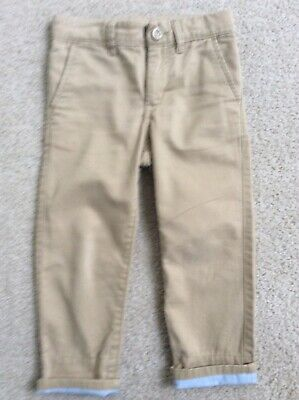 Baby Gap Boys Size 4 Years Tan Jeans Classic Straight Leg