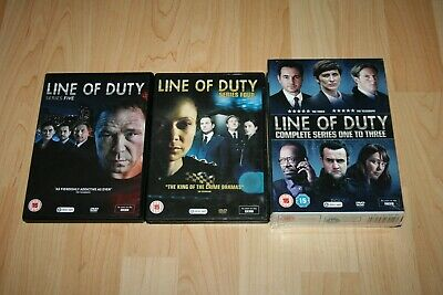 Line Of Duty Complete Series 1-5 Dvd Boxset 1 2 3 4 5