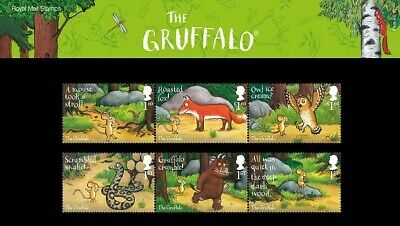 Gb 2019 Mint The Gruffalo Presentation Pack 577 Stamps Sheet Collector