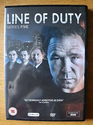 Line Of Duty Series 5 Dvd 2019 Like New Watched Once
