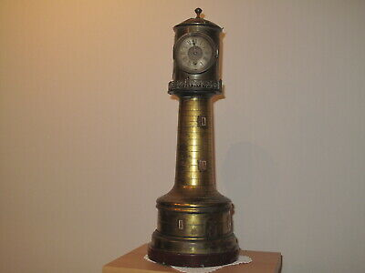 Leuchtturm Uhr French Lighthouse Clock Guilmet ca.1890