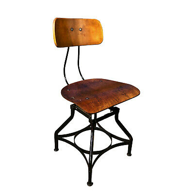 Outstanding Antique Adjustable Architect Or Drafting Stool Circa Early Bralicious Painted Fabric Chair Ideas Braliciousco