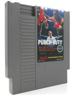 NES Mike Tyson's Punch-Out!! - Cart Only Cleaned & Tested