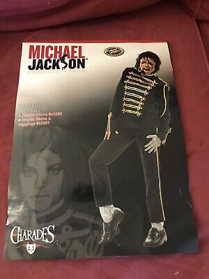 NWOT Michael Jackson Sequin Glove Costume Size Standard One Size