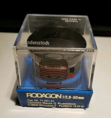 Rodenstock RODAGON 50mm f/2.8 supreme quality enlarging lens