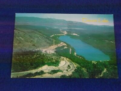 Postcard ~Donner Lake ~ I 80 ~  CA ~ With a Stamp 1966