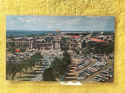 Postcard ~ Birds View of the Princes Gate ~ Toronto Canada ~ UNUSED