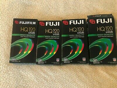 Fuji Film VHS Video Tapes for Recording