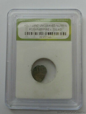 Ancient Coin Roman Empire Holy Land Uncleaned Nummis 330 a.d.