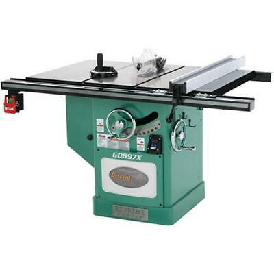 Grizzly G0697X 220V/440V 12 Inch 7-1/2 HP Extreme Series Left-Tilt Table Saw