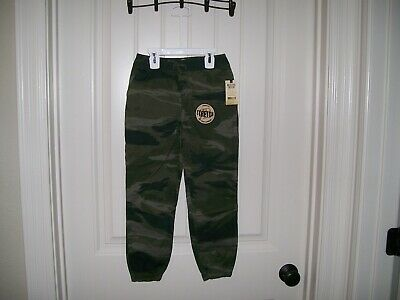 Rustic Blue Boys Camouflage Pull-On Style Pants Size 6 Retail $32