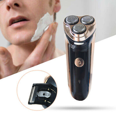 Rotary 3D Floating Head Rechargeable Washable Men Electric Shaver Razor Clipper