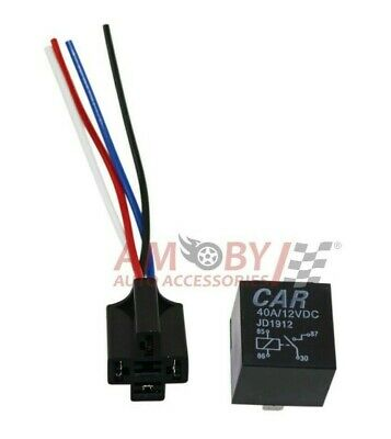 NEW ISUZU WARNING LIGHT CHARGE RELAY BLUE 12V 20A 5 TERMINALS 160407 RLY1700 WOOD AUTO