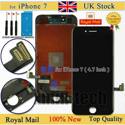 For iPhone 7 Retina Screen Replacement 3D LCD Display Touch Digitizer Black