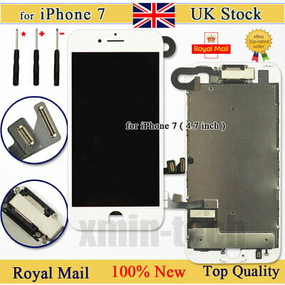 For iPhone 7 Retina Screen Replacement LCD Display Touch Digitizer Camera White