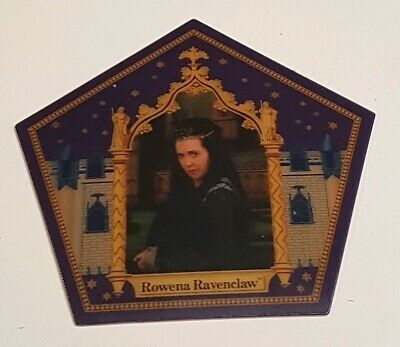 Harry Potter Chocolate Frog prop replica Card of Rowena Ravenclaw