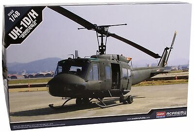 12308 academy kit di modellismo 1/48 kor army uh 1h (d7N)