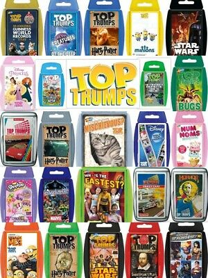 Top Trumps Card Games Play & Discover