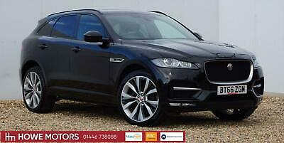 2016 66 Jaguar F-PACE 2.0 180ps AWD Auto R-Sport SAT NAV HEATED ELECTRIC LEATHER