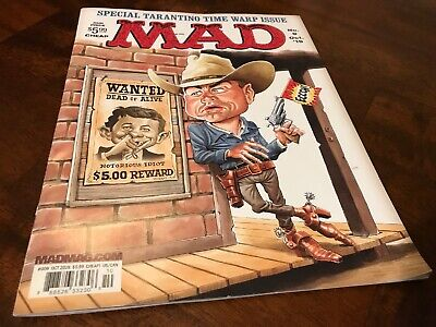 MAD Magazine October 2019 Last Newsstand Issue! (with sudge on cover)